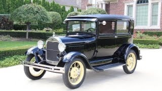 1929 Ford Model A Classic Car for Sale in MI Vanguard Motor Sales