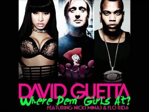 Download David Guetta ft. Flo Rida & Nicki Minaj - Where Them Girls At [Original Version]