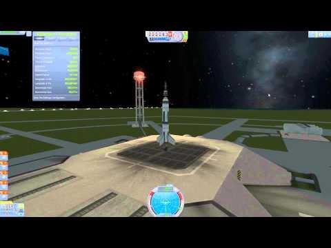 KSP: NASA mission 001. Launch of Explorer 1 satellite.