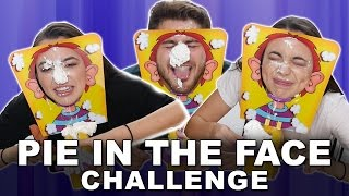 PIE FACE Challenge - Merrell Twins with Dominic DeAngelis