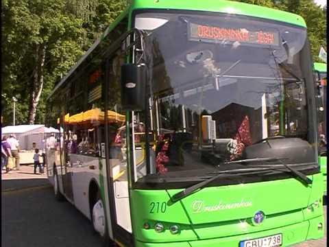 Autobusų bilietai Druskininkuose artimiausiu metu nebrangs