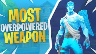 Most Overpowered Weapon (RPG) - Fortnite Frozen Love Ranger Skin Gameplay