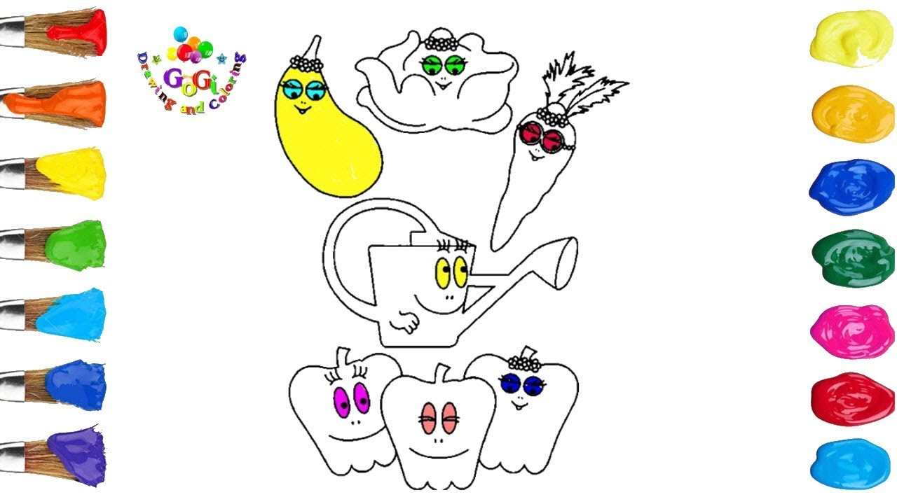 Perfect Barbapapa Coloring Page For Kids | Cartoon Networks Youtube ...