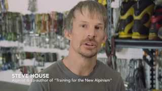 Book Trailer Training for the New Alpinism: A Manual for the Climber as Athlete