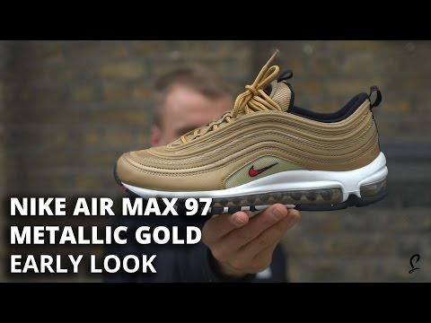 Air Max 97 Metallic Gold Early Look and How To Get