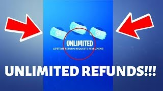 *WORKING* How To Get UNLIMITED Refunds In Fortnite!