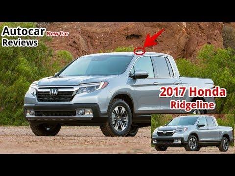 Honda Ridgeline 2017 Review
