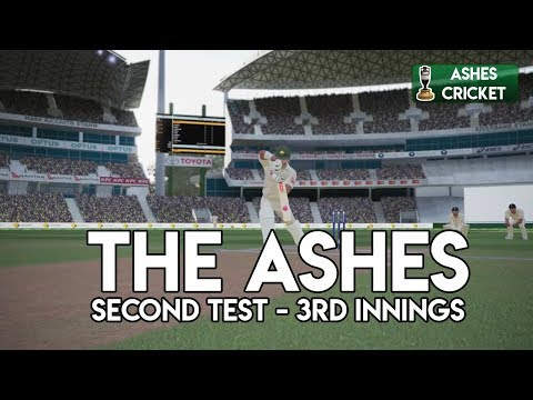 SETTING THE TARGET - Second Test - Third Innings (Ashes Cricket Game)