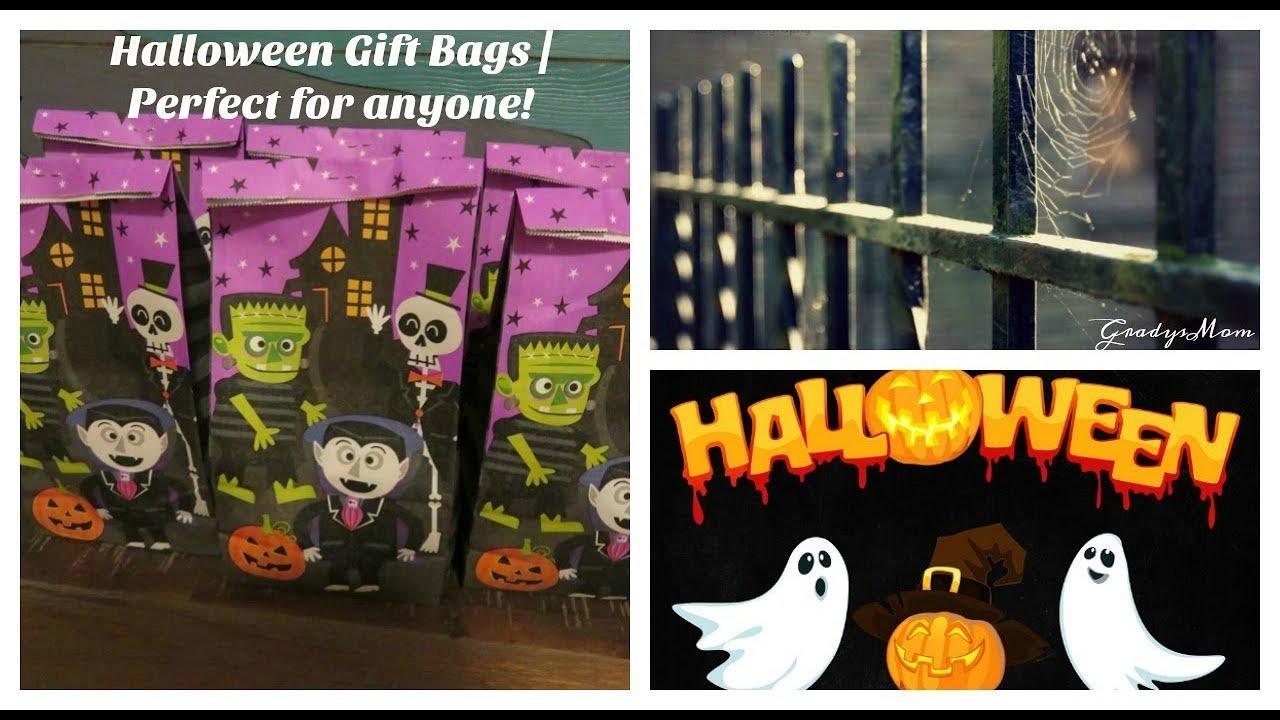 halloween gift bag idea for teachers friends family etc youtube