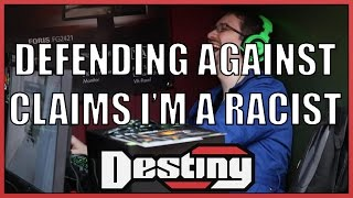 Destiny defends against claims that he's a racist