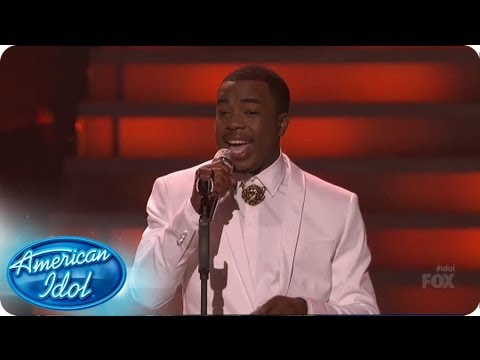 "Burnell Taylor Performs ""My Cherie Amour"": The Top 8 Perform - AMERICAN IDOL SEASON 12"