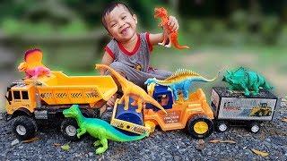 Trò Chơi Bắt Con Khủng Long ❤ ChiChi ToysReview TV ❤ Đồ Chơi Trẻ Em Baby Doli
