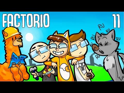 Foxman and Boys Play: Factorio - Ep. 11 - Crusade