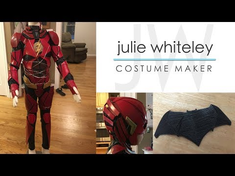 The REAL Justice League BTS costume production
