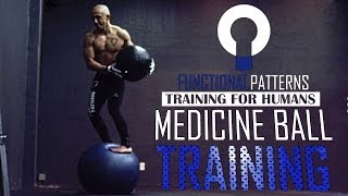 REAL Functional Fitness - Medicine Ball Training Circuit