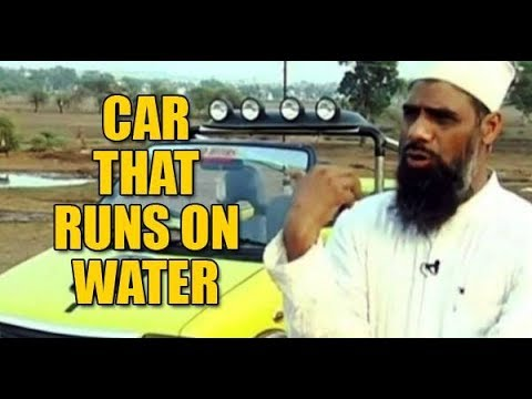 Download बिना ड्राइवर और पानी पर चलने वाली कार ll This Mechanic invents 'water fuelled' car in India ll