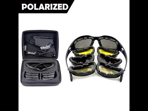 Крутые ОЧКИ со СМЕННЫМИ СТЕКЛАМИ из Китая. Military Sunglasses, Daisy C5 Polarized Army Goggles