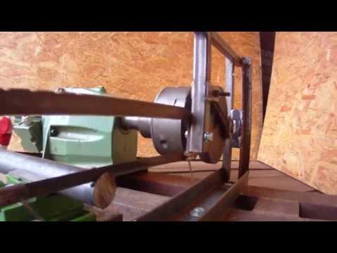 Самодельная электромеханическая ножовка по металлу.( Homemade Mechanical Hacksaw.)