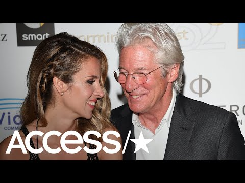 Richard Gere & Alejandra Silva Celebrate With A Stunning Wedding! | Access