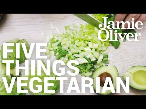 Download Youtube: 5 Things... Vegetarian | Food Tube Classic Recipes