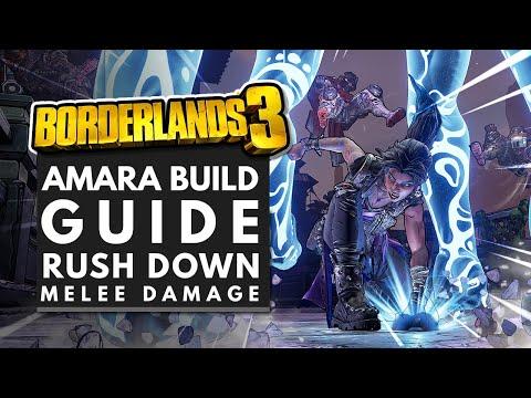 Borderlands 3 Best Builds | SHOCK MELEE Amara Build Guide