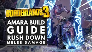 Borderlands 3 Best Builds | SHOCK MELEE Amara Build Guide