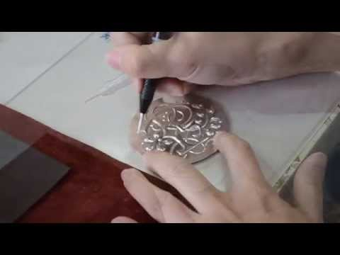 Introduction to Metal Embossing Tutorial - Shiny Mirror
