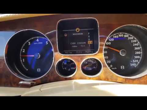 Расход бензина на Бентли! Развеиваем мифы ! Bentley Continental Flying Spur