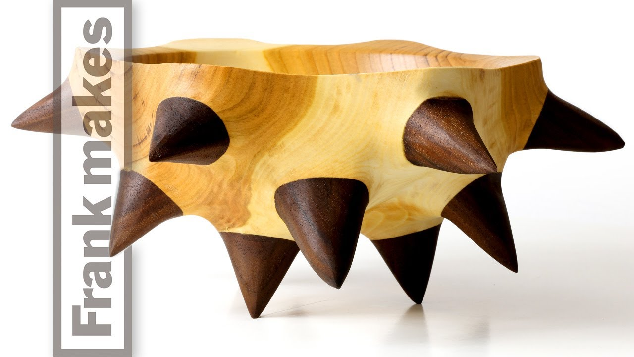 Making a Cherry Bowl with Spikes