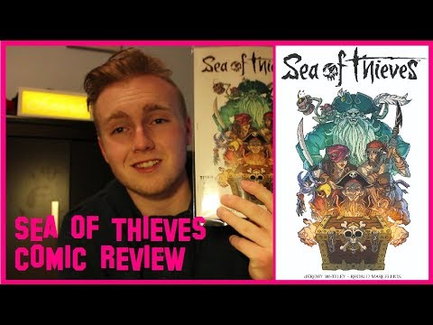 SEA OF THIEVES COMIC BOOK REVIEW!!!