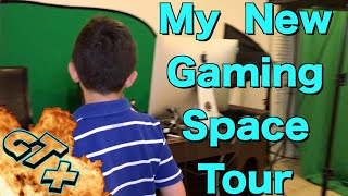My Gaming Setup Tour 2019 ( NEW SPACE ) , All The Gaming Equipment that I Use