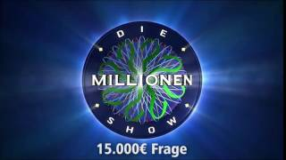 15.000€ Frage | Millionenshow Soundeffect