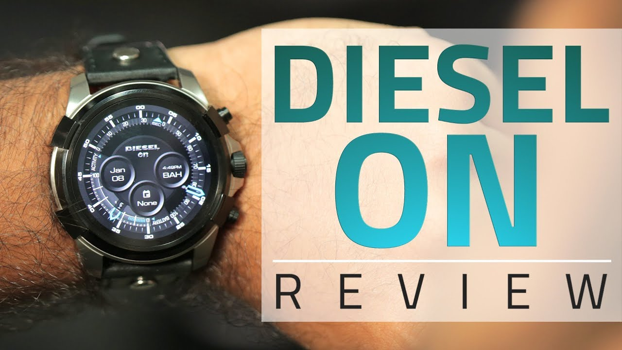 c72e0270860 Diesel On Smartwatch Review