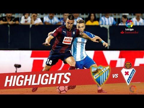 Resumen de Málaga CF vs SD Eibar (0-1)
