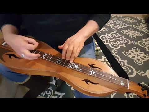 Groundhog on Mountain Dulcimer