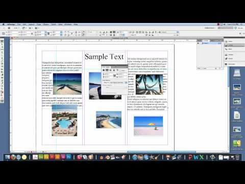 How to make a brochure in Adobe InDesign.mov - YouTube