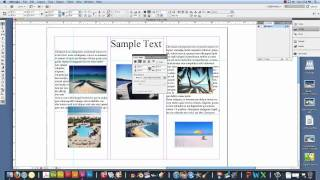 How to make a brochure in Adobe InDesign.mov