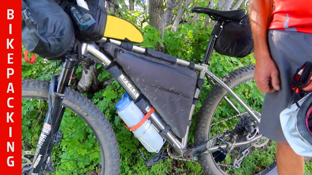 Jim's BEARCLAW Titanium Bikepacking Bicycle