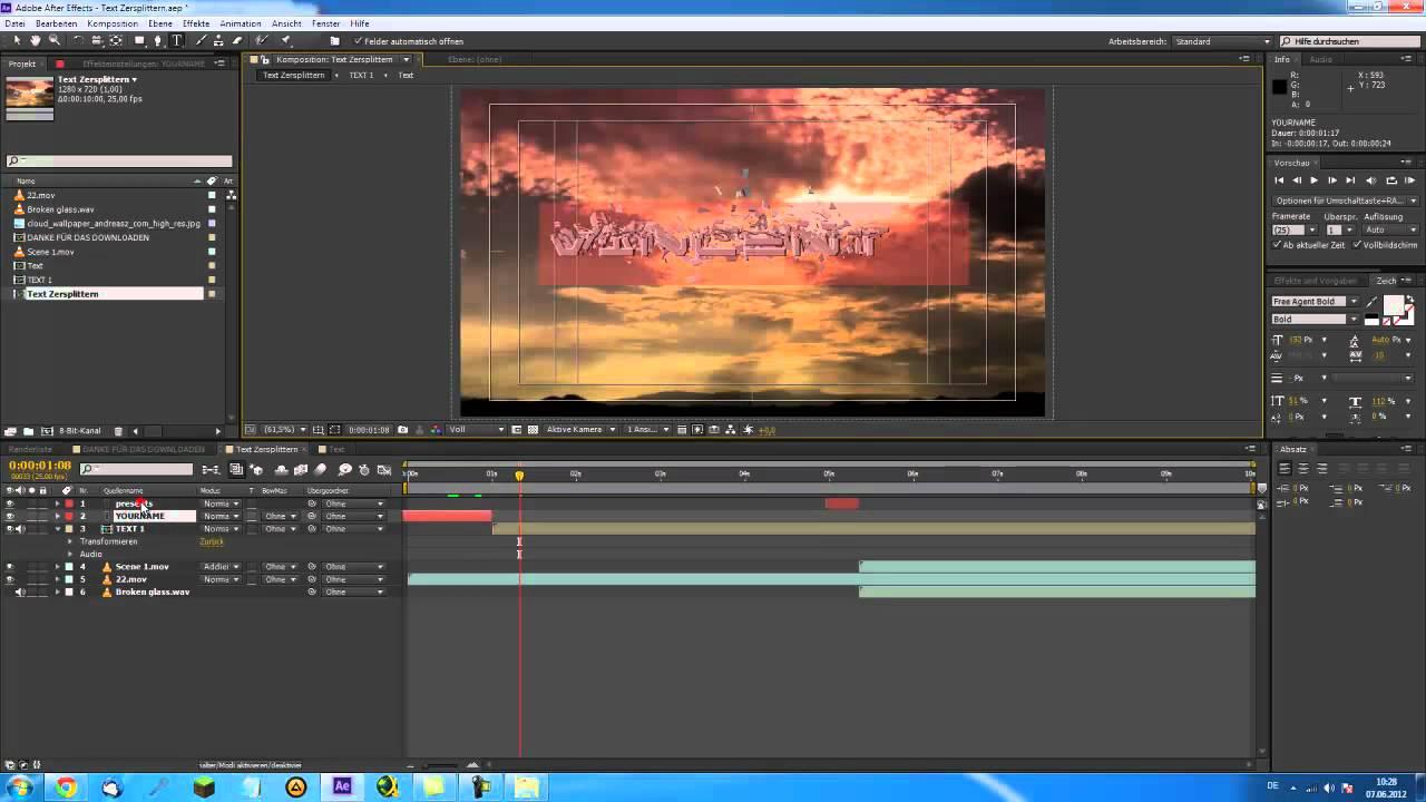 Charmant After Effects Vorlagen Cs6 Fotos - Beispielzusammenfassung ...
