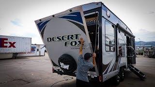 THIS TOY HAULER Rν IS AMAZING !! | DESERT FOX TOUR