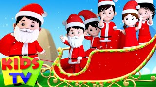 Santa Claus Finger Family | Jingle Bells | Christmas Carols | Kids Tv Nursery Rhymes