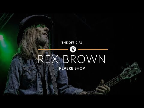 The Official Rex Brown of Pantera Reverb Shop Preview
