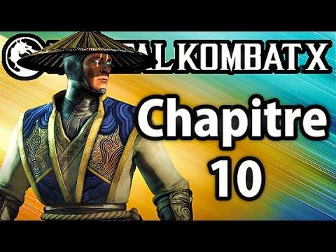 Vidéo Mortal Kombat X — Raiden
