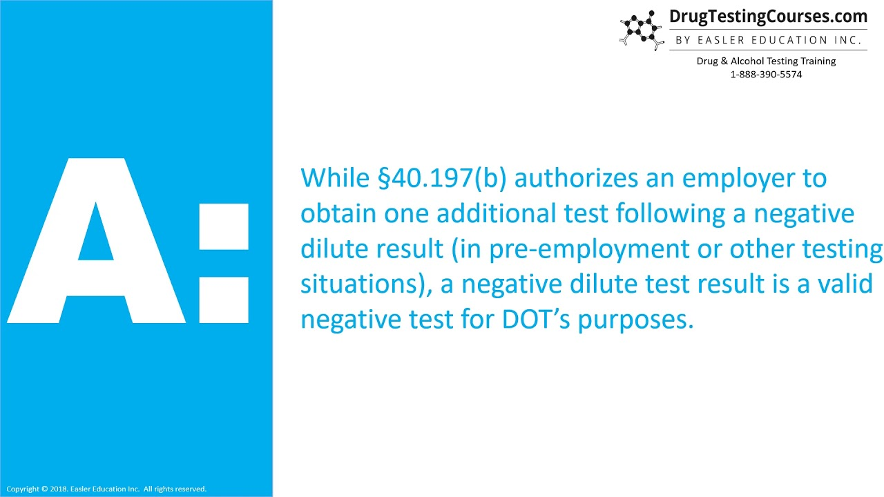Negative Dilute Drug Test >> Can An Employer Refuse To Hire Based On Negative Dilute Test Results