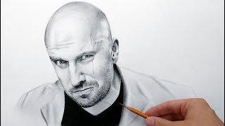 Физрук - портрет карандашом (рисование time lapse)(Рисование портрета Дмитрия Нагиева карандашом поэтапно (drawing portrait Dmitry Nagiyev)- ускоренное видео от художника..., 2015-05-27T15:59:41.000Z)
