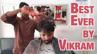 The best ever head massage by Vikram   Indian Massage thumbnail