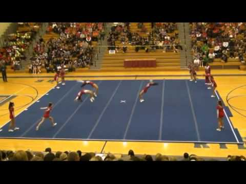 Berrien High School Cheerleading Competition Routine November 6, 2010