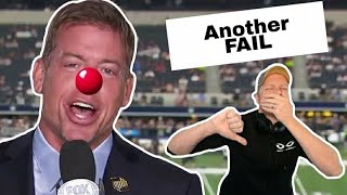 Troy Aikman Tries To Explain Anti-Military Comments - It Backfires BIG TIME