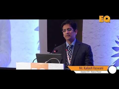 Kailash Vaswani Deputy CFO - Renew Power at EQ SolarTech Conference