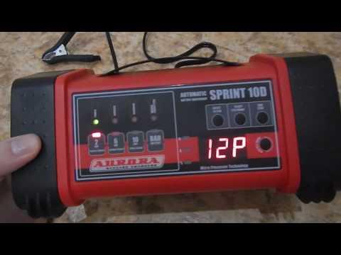 AURORA зарядное устройство (обзор/отзыв)